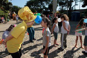 Animação e alegria para festas de crianças