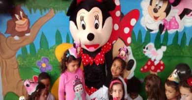Minie para festa infantil em BH