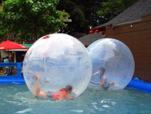 Water Ball para colônia de férias em condomínios de Belo Horizonte